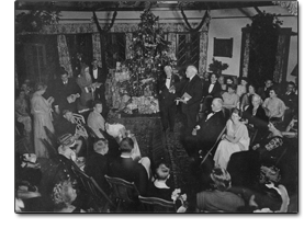 Christmas Party at the Casements circa 1930